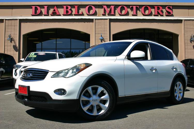 2010 Infiniti EX35 Journey SUV, leather, navigation, rear camera, moonroof, new tires, CLEAN!