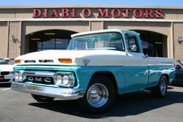 1963 GMC 1000 1/2 Ton Short Bed Pickup, V6 305, beautifully restored!