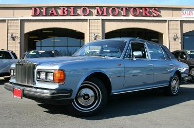 1984 Rolls Royce Silver Spur sedan, all original, Connolly leather, mohair headliner, extra clean, only 73k miles!