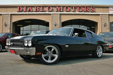 1970 Chevrolet Chevelle SS Coupe, black on black, resto-mod, brand new LQ4 V8 6.0L, manual transmission, upgraded and updated everything! Must see!
