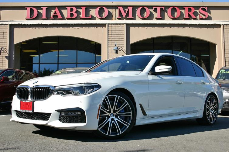 2017 BMW 5-Series 540i, M-Sport, Premium, Convenience, Driver Assist Plus, Surround Cameras, Heated Leather Seats, Loaded!