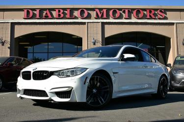 2017 BMW M4 Coupe, Executive pkg, Driver Assist Plus pkg, navigation, rear camera, XM, loaded, white, carbon roof, immaculate!