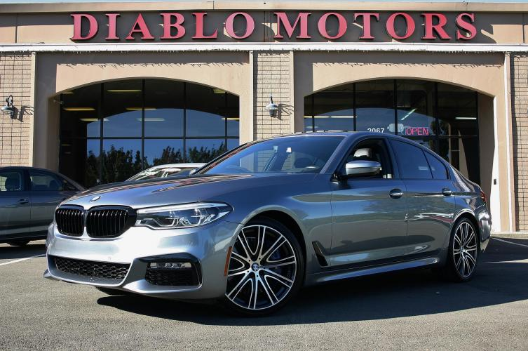 2017 BMW 5-Series 540i, M-Sport, Premium, Convenience, Driver Assist, Rear Camera, Heated Leather Seats, Loaded!