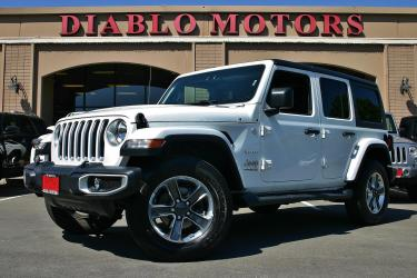 2020 Jeep Wrangler Unlimited Sahara 4x4, new JL body, removable 3 piece hardtop, rear camera, clean!