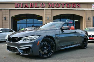 2017 BMW M4 Convertible, Competition pkg, Exec pkg, Driver Assist Plus, loaded, immaculate, 34k miles!