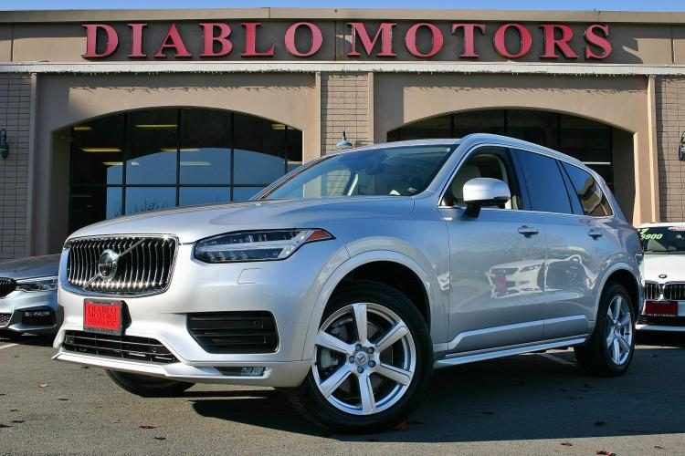 2020 Volvo XC90 T6 Momentum AWD, only 8k miles, fully loaded with Advanced pkg, moonroof, heated leather seats, and BLIS, perfect inside and out!