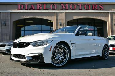 2017 BMW M4 Convertible, Competition pkg, Exec pkg, Driver Assist Plus, Cold Weather pkg, loaded, immaculate, only 42k miles!