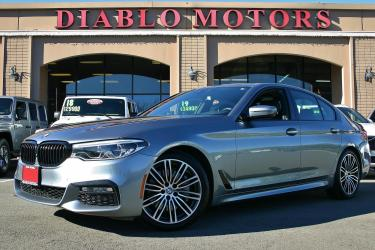 2018 BMW 5-Series 540i M-Sport, really loaded, Executive, Driver Assist, Blind Spot Warning, Heated Luxury Leather Seats, much more!