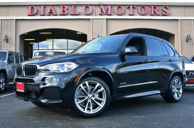 2018 BMW X5 xDrive35i, M-Sport pkg, Premium pkg, loaded, 6 cylinder turbo, navigation, rear camera, heated leather seats, panorama moonroof, extra nice!