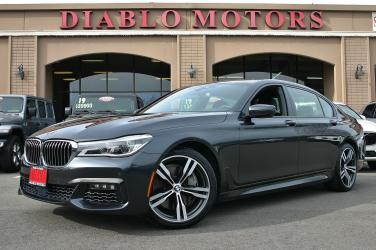 2018 BMW 7-Series 750i M-Sport, Executive pkg, Driver Assist, Navigation, heated and cooled Nappa leather seats, loaded and MINT!