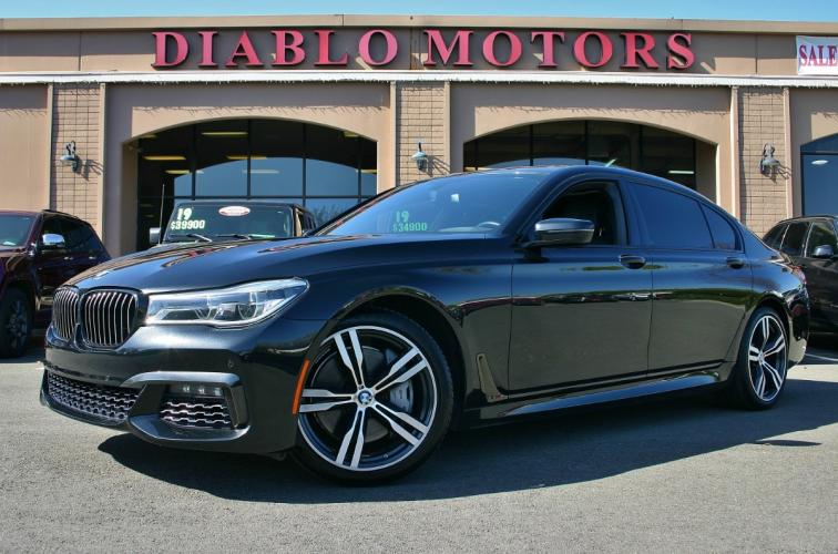 2018 BMW 7-Series 750i M-Sport, Executive pkg, Driver Assist, Navigation, heated and cooled Nappa leather seats, loaded and clean!