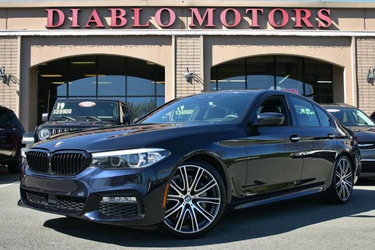 2018 BMW 5-Series 540i M-Sport, Driver Assist, Surround Cameras, Blind Spot Warning, Heated Leather Seats, much more!